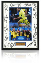 "Kilmarnock Scottish League Cup Winners Hand Signed 15x12"" Presentation"