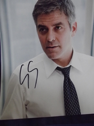 Clooney, George - authentic autograph