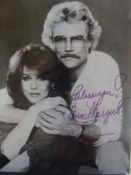 Ann-Margret and Roger Smith authentic autographs