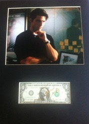 Tom Cruise Jerry Maguire Signed Dollar Bill Presentation
