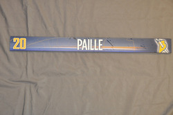 Daniel Paille Buffalo Sabres Locker Room Nameplate 2009-10 Season