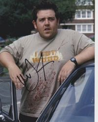 Nick Frost Autograph Shaun Of The Dead signed in person 10x8 photo