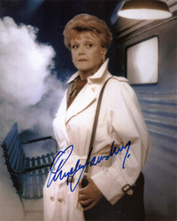 Angela Lansbury signed 10x8 photo.