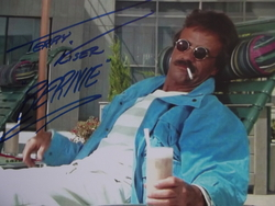 Kiser, Terry - authentic autograph - UACC Reg. Dealer #251 - 'Weekend At Bernie's' films.