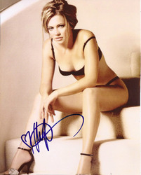 Melissa Joan Hart signed 10x8 photo.