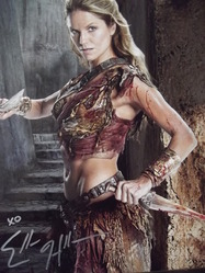 Hollman, Ellen - authentic autograph - Spartacus
