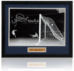 "Jimmy Greaves hand signed 12x8"" ECWC Final photograph"