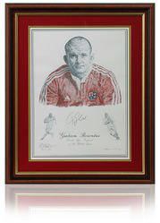 Graham Rowntree hand signed British Lions Art Print