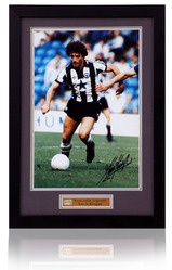 Kevin Keegan hand signed Newcastle United photograph
