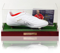 Robbie Fowler Hand Signed Football Boot