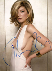 Rosamund Pike signed 10x8 photo.