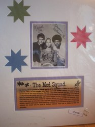 The Mod Squad - signed by all 3 stars