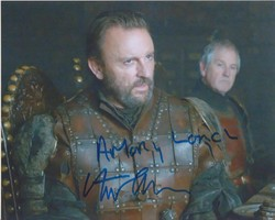 Fintan McKeown Autograph Game Of Thrones signed in person 10x8 photo