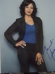 Jones, Tamala - authentic autograph - Castle