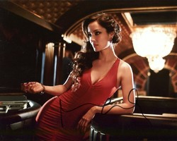 Berenice Marlohe AUTOGRAPH Skyfall SIGNED IN PERSON 10x8 Photo