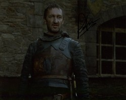 Ralph Ineson AUTOGRAPH Game Of Thrones SIGNED IN PERSON 10x8 photo
