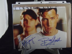 Affleck, Ben and Hartnett, Josh - authentic autographs