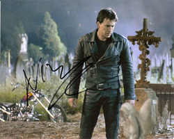 Nicolas Cage signed 10x8 photo.