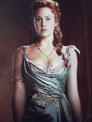 Hutchison, Anna - authentic autograph - Spartacus