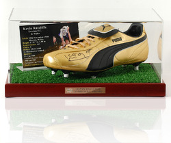 Kevin Ratcliffe hand signed football boot