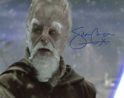 Silas Carson Autograph Star Wars Signed In Person 10x8 Photo