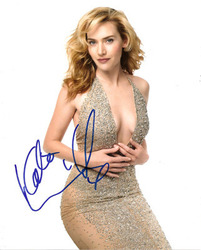 Kate Winslet signed 10x8 photo.