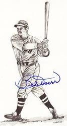 Bobby Doerr Signed Post Card