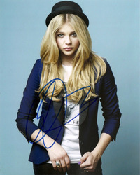 Chloe Moretz signed 10x8 photo.