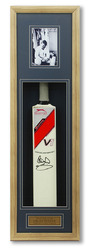 Ian Botham hand signed cricket bat