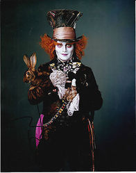 Johnny Depp Autograph ALICE IN WONDERLAND signed in person 10 x 8 photo