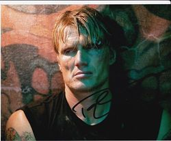 Dolph Lundgren Signed The Expendables 10x8 Photo