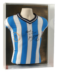 John Sillett Hand Signed COVENTRY1987 FA Cup Shirt