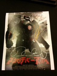 Pacific Rim AUTOGRAPHED BY 5 SIGNED IN PERSON 10x8 Photo