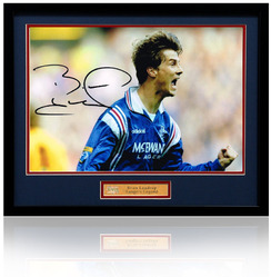 "Brian Laudrup hand signed 12x8"" photograph"