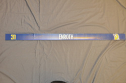 Jonas Enroth Buffalo Sabres Locker Room Nameplate 2009-10 Season