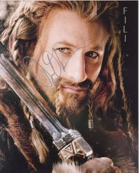 Dean O'Gorman Autograph The HOBBIT signed in person 10 x 8 photo
