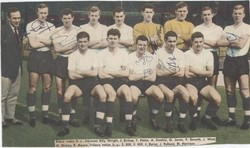 1961 England u23's - Include's Bobby Moore