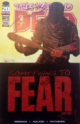 Image, The Walking Dead #100 signed by Robert Kirkman
