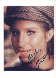 Barbra Steisand Signed Photo