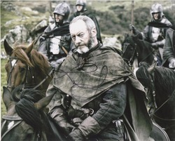 Liam Cunningham AUTOGRAPH Game Of Thrones SIGNED IN PERSON 10x8 photo