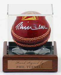 Phil Tufnell Hand Signed Cricket Ball