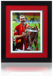 Paul Scholes Hand Signed Manchester United 16x12 Photo