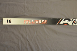 Henrik Tallinder Buffalo Sabres Locker Room Nameplate 2005-06 Season
