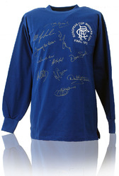 Rangers 1972 Cup Winners Cup signed Shirt (LOT851)