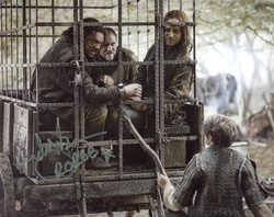 Andy Beckwith Autograph Game Of Thrones signed in person 10 x 8 photo