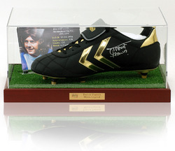 Trevor Francis Hand Signed Birmingham City Football Boot