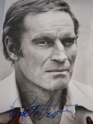 Charlton Heston - great glare stare