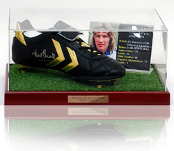 Tony Currie Hand Signed Football Boot