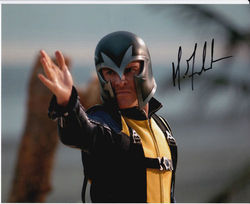 Michael Fassbender Signed X-Men First Class 10x8 Photo