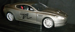 Daniel Craig SKYFALL Autographed Aston Martin DBS 1:18 Signed in person